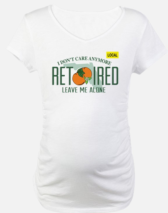 Funny Florida Retired License Pl Shirt