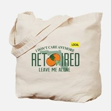 Funny Florida Retired License Plate Tote Bag