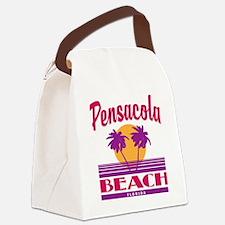 Unique Pensacola beach Canvas Lunch Bag