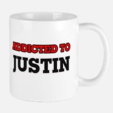 Addicted to Justin Mugs