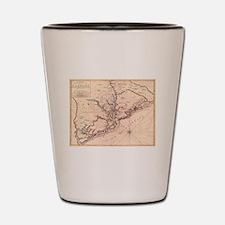 Cool Antique maps Shot Glass