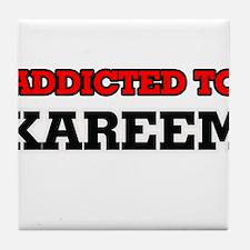 Addicted to Kareem Tile Coaster