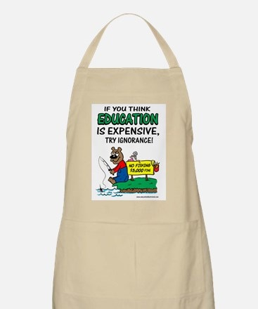 Ignorance is Expensive  BBQ Apron