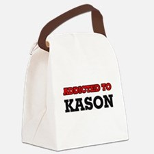Addicted to Kason Canvas Lunch Bag