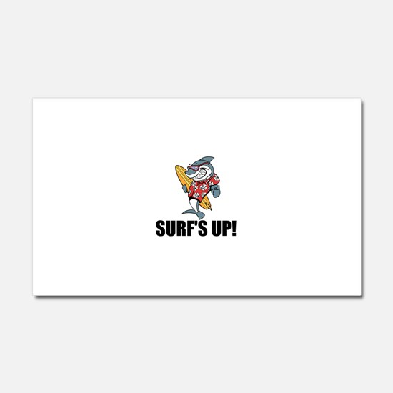Surf's Up Car Magnet 20 x 12