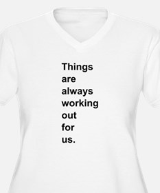 Always working out. Plus Size T-Shirt
