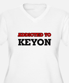 Addicted to Keyon Plus Size T-Shirt