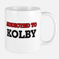Addicted to Kolby Mugs