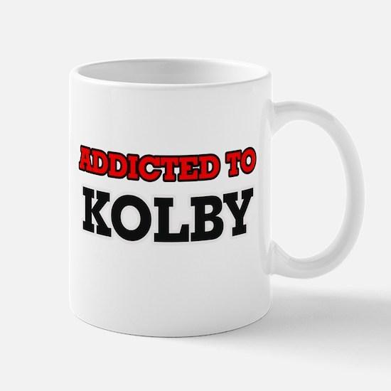 Addicted to Kolby Mugs