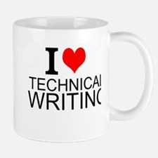 I Love Technical Writing Mugs