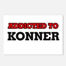 Addicted to Konner Postcards (Package of 8)