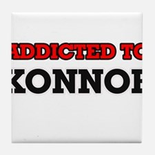 Addicted to Konnor Tile Coaster