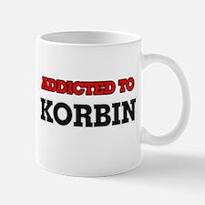 Addicted to Korbin Mugs