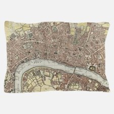 Vintage london Pillow Case