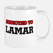 Addicted to Lamar Mugs
