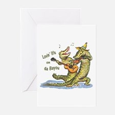 On da Bayou Greeting Cards