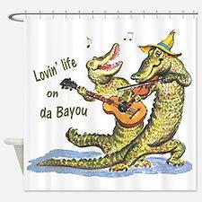 On da Bayou Shower Curtain