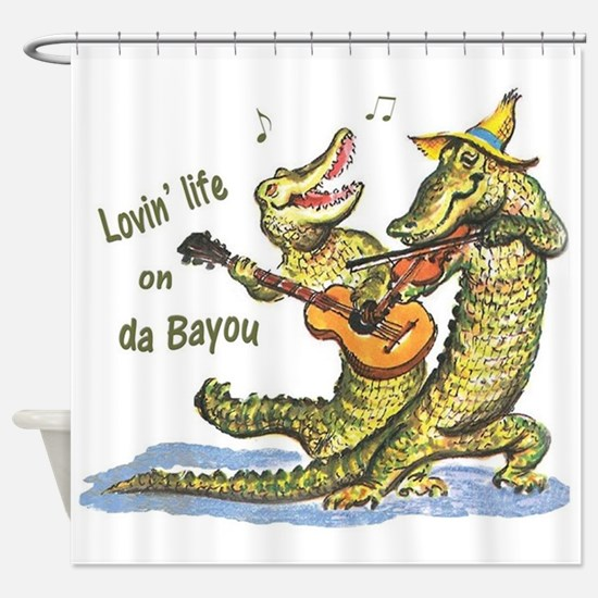 On da Bayou Shower Curtain