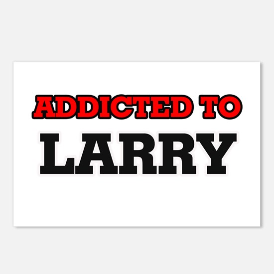 Addicted to Larry Postcards (Package of 8)