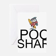 Pool Shark Greeting Cards