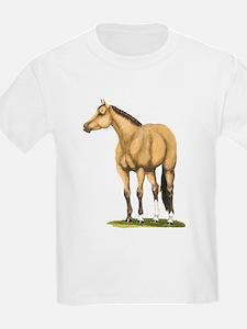 Tate, Buckskin Stallion T-Shirt