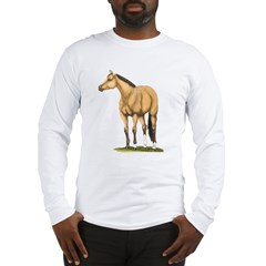 Tate, Buckskin Stallion Long Sleeve T-Shirt