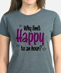 Limit Happy Hour? Women's Dark T-Shirt