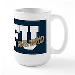 Frogleg University Large Mug Dark Bg Mugs