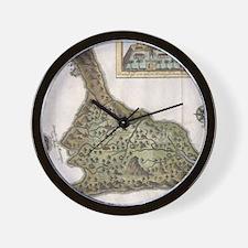 Cute Bali Wall Clock