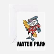 Water Park Greeting Cards