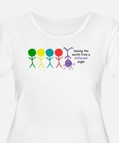 SeeingTheWorld copy Plus Size T-Shirt