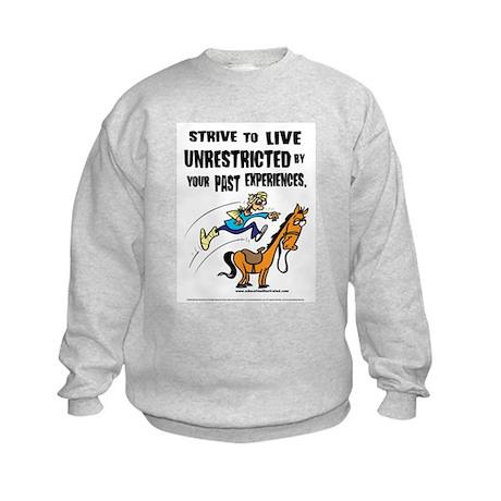 Live Unrestricted Kids Sweatshirt