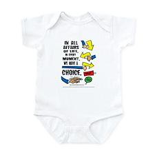 We Have a Choice Infant Bodysuit