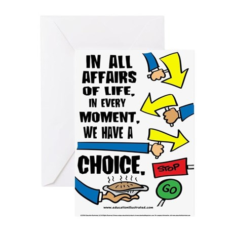 We Have a Choice Greeting Cards (Pk of 20)