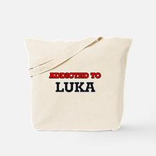 Addicted to Luka Tote Bag