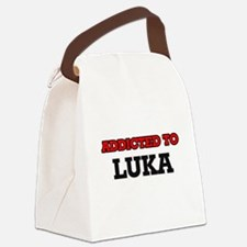 Addicted to Luka Canvas Lunch Bag