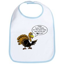 No Meat Yet Turkey Bib
