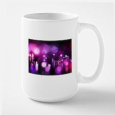 Purple bokeh Mugs