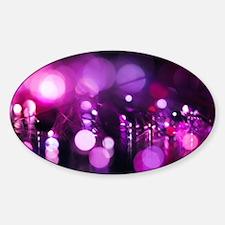 Purple bokeh Decal