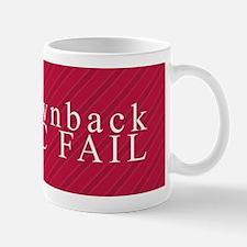Brownback Epic Fail Mugs