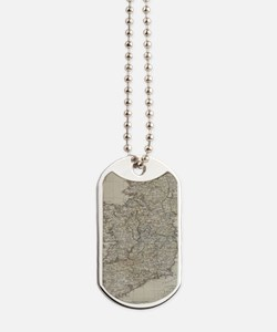 Antique maps Dog Tags