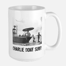 """Charlie Don't Surf"" Mugs"