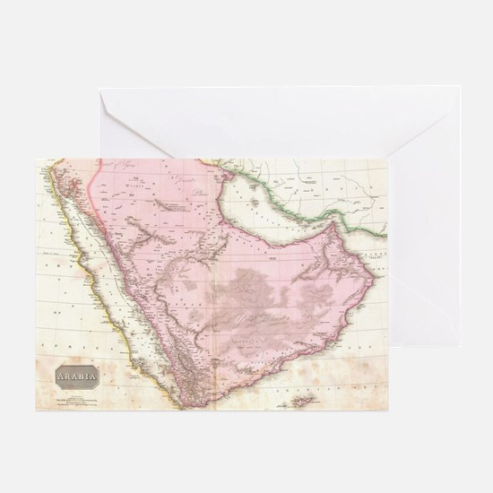Cute Saudi arabian Greeting Card