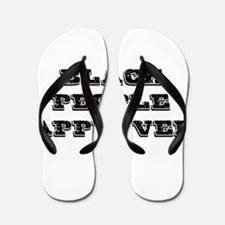 BLACK PEOPLE APPROVED Flip Flops