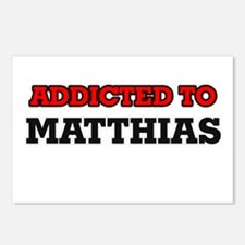 Addicted to Matthias Postcards (Package of 8)