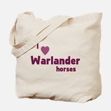 Warlander horses Tote Bag