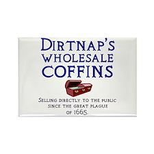 Dirtnap's Wholesale Coffins Rectangle Magnet