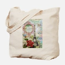Paris Journal Tote Bag