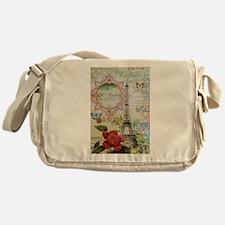 Paris Journal Messenger Bag