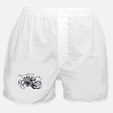 Inky Margins Boxer Shorts